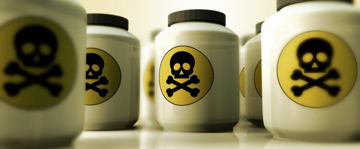 bottles of poison